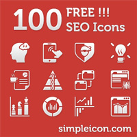 60 SEO Services Icons icons