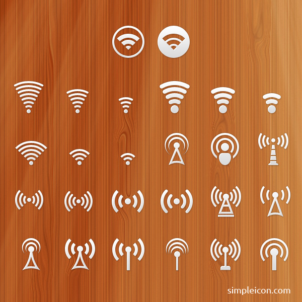 Signal icons
